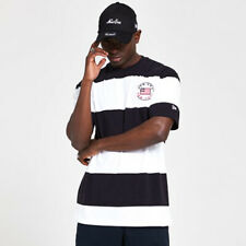 New Era Cap Men's Classic Over Sized Heritage Striped T-Shirt - Size Large