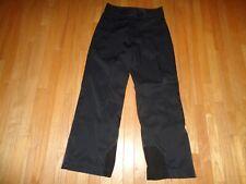 Marker Aqua Guard Women's Ski Snowboard Pants Black Stretch Nylon Size 12