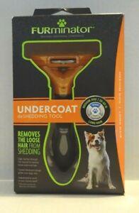 FURminator Undercoat DeShedding Tool---Medium Dog, Long Hair. New--Sealed