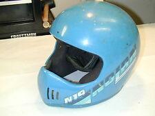 Vintage Nolan N19 Motocross ATV Helmet - Large - Blue