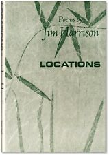 Locations: Poems  - Signed by Jim Harrison - First Edition Hardcover