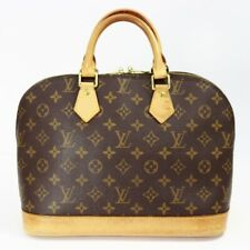 LOUIS VUITTON Monogram Alma M51130 Hand Bag Brown Canvas