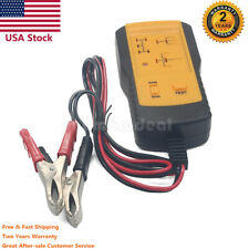 12V Electronic Automotive Relay Tester Car Auto Battery Checker Universal AE100