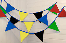 Fabric Union Jack 6-10 m Party Banners, Buntings & Garlands
