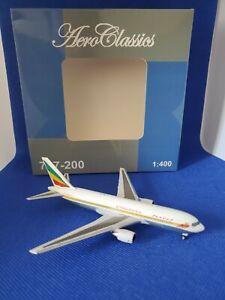 Aeroclassics 1/400 diecast Ethiopian Boeing 767-260/ER ET-AIF 1990s