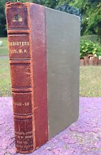 Rare West Point USMA Official Register Book. With Dwight D Eisenhower 1909-1913