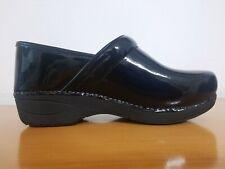 Dansko XP 2.0 Black Patent Women's Clogs - Size EU 38 W - NEW