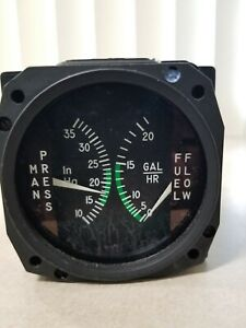 Cessna S3304-1 Manifold Press/Fuel Flow Indicator