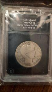 1911 Barber Half Dollar - #066 (A)-VG Strong Grade