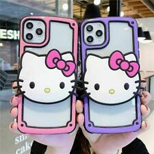 Cute Hello Kitty Case For iPhone 11 Pro Max XR XS 7 8 Holder Stand Bracket Cover