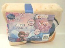 """Disney Frozen Anna Plush Blanket - 62"""" X 90"""", Children's Girls"""