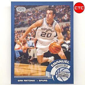 2002-03 Topps Chrome Manu Emanuel Ginobili Rookie RC #124 Spurs