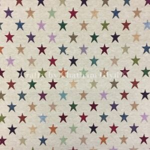 New World Tapestry Fabric Luxury Weight Cotton Rich Fabric 1.4m wide Stars