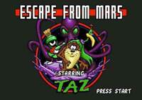 Taz In Escape From Mars - Sega Genesis Game Only