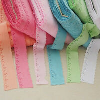 2Meter Cotton Fabric Embroid Lace Edge Trim Ribbon DIY Sewing Decor 1.37'' Width