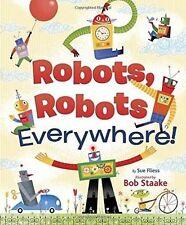 Robots, Robots Everywhere (Little Golden Board Book)