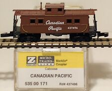 MTL Z scale  535 00 171 Canadian Pacific Caboose