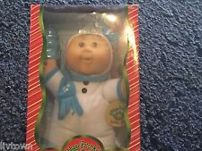 Cabbage Patch Kids Blond 2007 Blond Brown Eyes Holiday Doll Walmart Exclusive