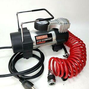 Craftsman 75121 120 Volt Small Portable Inflator 100 psi