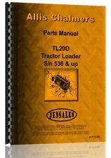 Allis Chalmers TL-20D Diesel Wheel Loader Parts Manual