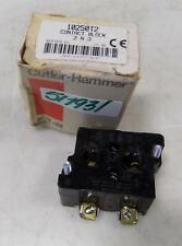 CUTLER-HAMMER 2 N.O. CONTACT BLOCK 1250T2 SER. B1 NIB