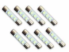 8pcs Marantz LED Lamp WARM WHITE 8V 29x6mm Dial Meter Light Fuse Bulb Upgrade