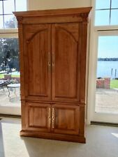 Ethan Allen Legacy Entertainment TV Armoire with storage Looks NEW ~ Ret: $3,500