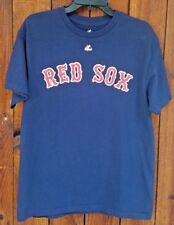 Boston Red Sox #1 Dad Blue Majestic T-shirt Size L