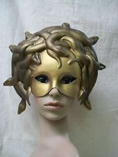 Medusa Masquerade Eye Mask Venetian Serpent Mythical Greek Gorgon Snake Queen