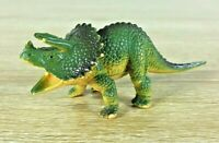 Triceratops Dinosaur Toy Figurine Collectable 12CM Length 4CM Tall 1986 Vintage