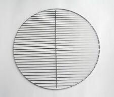 Ø 54,5 cm Edelstahl poliert Grillgitter Grillrost flach rund Grill für Weber 57