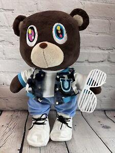 Kanye West Graduation Bear Plush With Shutter Shades No Necklace NWOT Custom