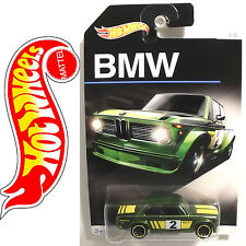 Hot Wheels 2015 BMW 2002 German Race Car 100th Anniversary 4/8 long Card (HW163