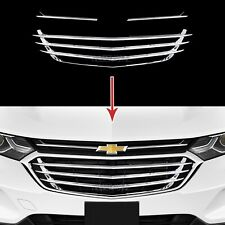 2018-2020 Chevy Equinox Chrome Snap On Grille Overlay Front Grill Covers Inserts