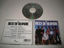 BLONDIE/THE BEST OF BLONDIE(CHRYSALIS/CDP 32 1371 2)CD ÁLBUM