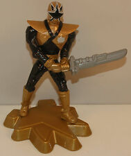 "2012 Gold Ranger 4.25"" McDonalds Super Samurai #7 Action Figure Power Rangers"