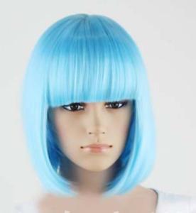 Sexy BOBO Wig Hair Multiple Colors Cosplay Costume Anime Hair Full Wavy Wig Hair