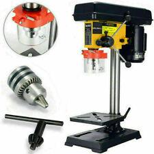 9 Speed Pillar Drill 500w Motor 16mm Chuck Press Bench Top Mounted Drilling