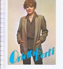 ORIETTA BERTI 80s Polydor italy promo postcard - cartolina promozionale original