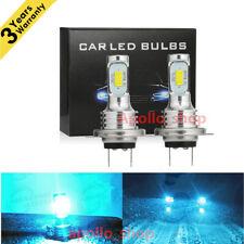 H7 LED Headlight Bulbs Kit Hi/ Lo Beam 35W 4000LM Super Bright 8000K Ice Blue PO