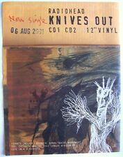 Radiohead 2001 Poster Ad Knives Out