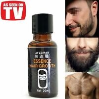 Beard Growth Oil for men Leg hair Pubic Chest Mustache Thicker Essence