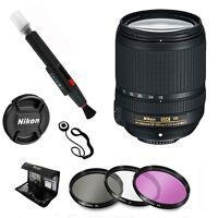 Nikon 18-140mm f/3.5-5.6G ED VR AF-S DX NIKKOR Zoom Lens + Deluxe Accessory Kit