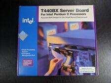Open Box Intel T440BX Server Board for Pentium II Slot 1 Motherboard