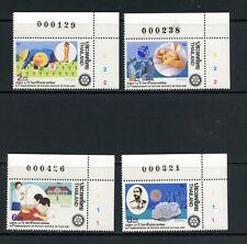 U597 Thailand 1990 Rotary 4v. Mnh