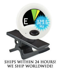 WHITE SNARK HZ-1 CHROMATIC HEADSTOCK TUNER FOR GUITAR, BASS, UKE, BANJO & MORE!