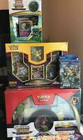 Sealed Pokemon Boxes-Dragon Majesty, Shining Legends, & Ultra Prism