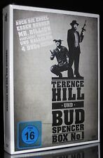 DVD TERENCE HILL + BUD SPENCER BOX No 1 AUCH DIE ENGEL ESSEN BONEN + MR BILLION