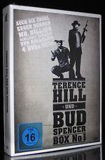 DVD TERENCE HILL + BUD SPENCER BOX No 1 AUCH DIE ENGEL ESSEN BONEN + MR BILLION