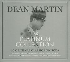 DEAN MARTIN THE PLATINUM COLLECTION - 3 CD BOX SET - VOLARE, THAT'S AMORE & MORE